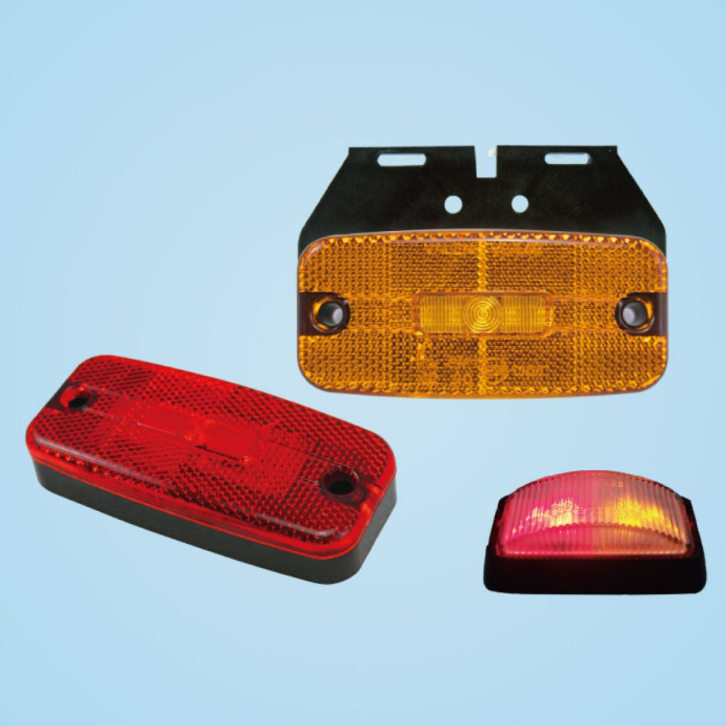 Rectangular Side Marker Light