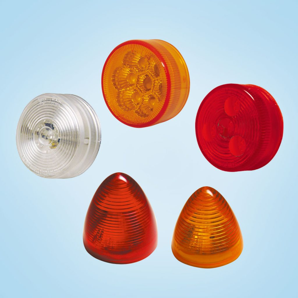 Round Side Marker Light